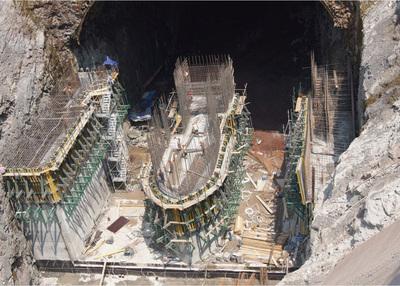 金沙江白鹤滩水电站左岸导流隧洞
